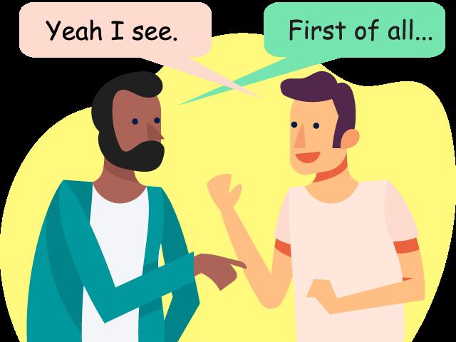 会話イメージ